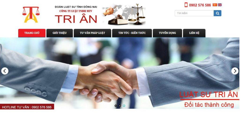 Công ty luật  - Văn Phòng Luật Sư Tri Ân