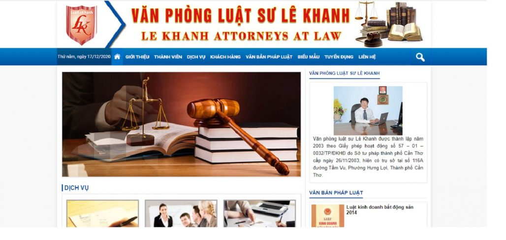 Công ty luật - Văn phòng Luật sư Lê Khanh