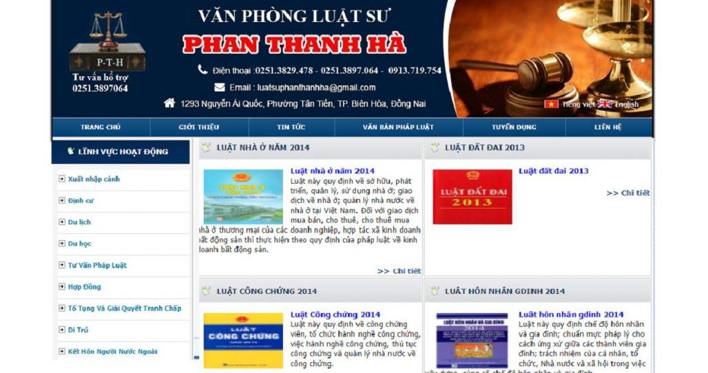 Công ty luật - Văn phòng Luật sư Phan Thanh Hà