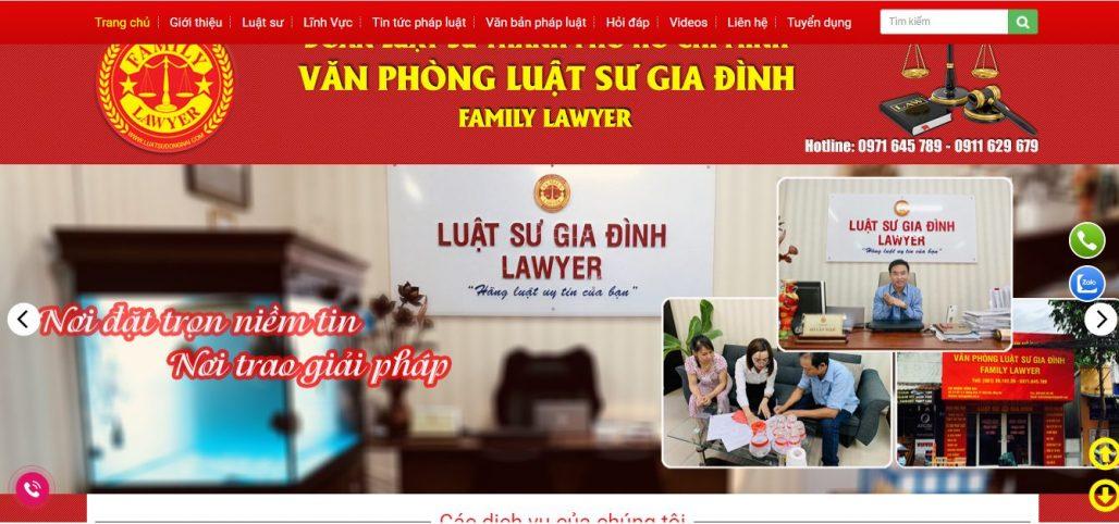 Công ty luật - văn phòng luật sư Gia Đình
