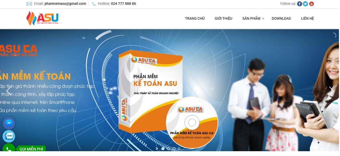 Công ty phần mềm kế toán ASU