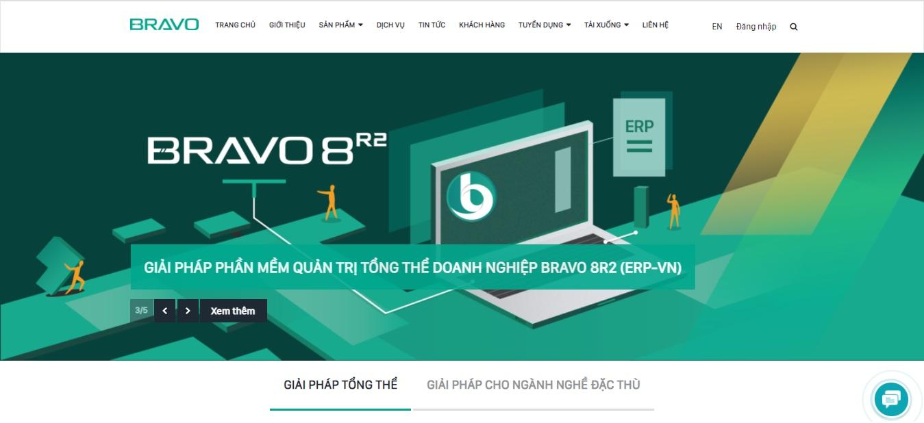 Công ty phần mềm kế toán Bravo Đà Nẵng