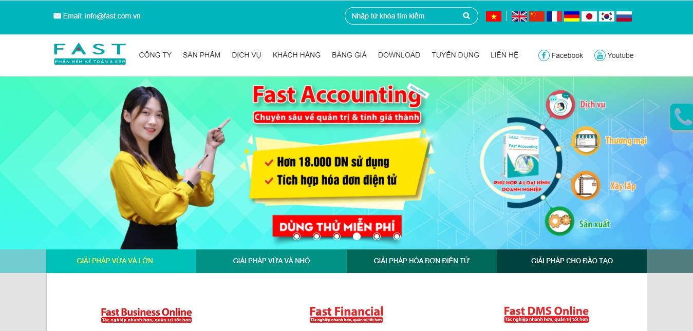 Công ty phần mềm kế toán FAST