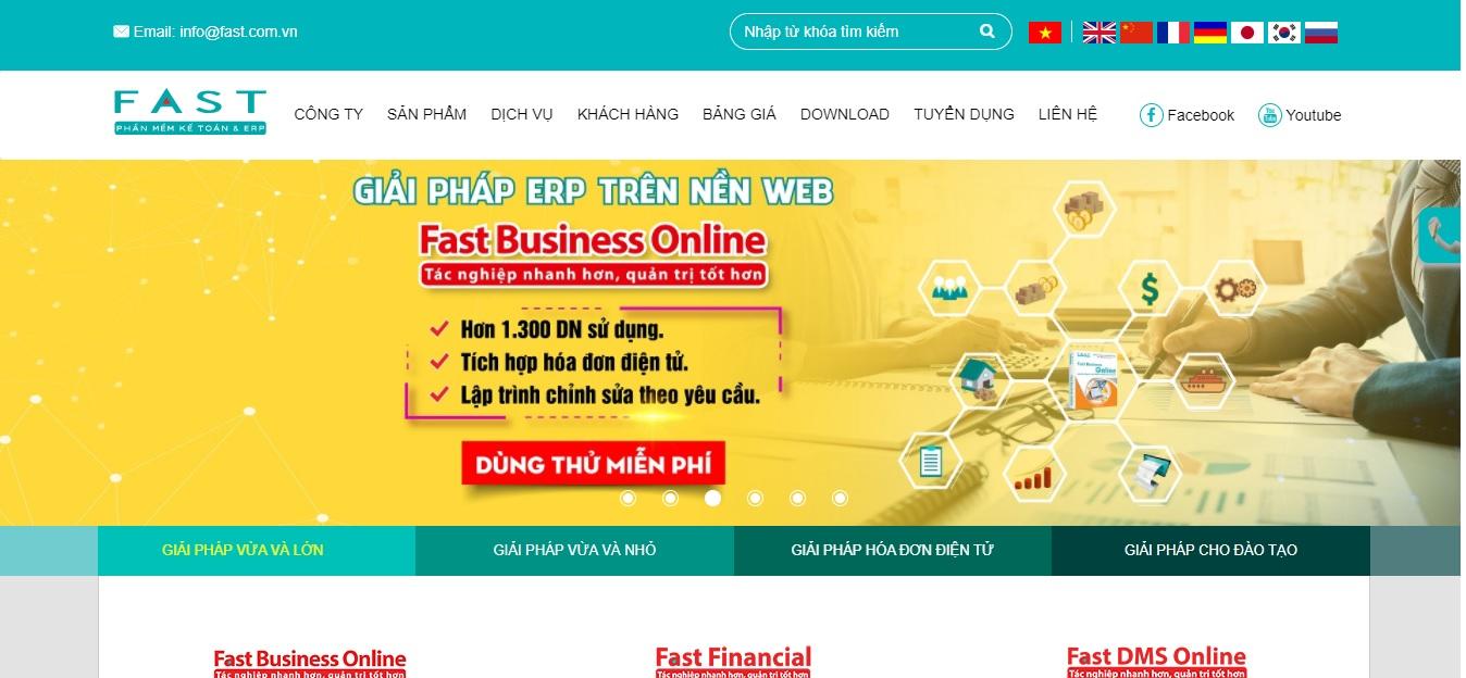Công ty phần mềm kế toán Fast Đà Nẵng