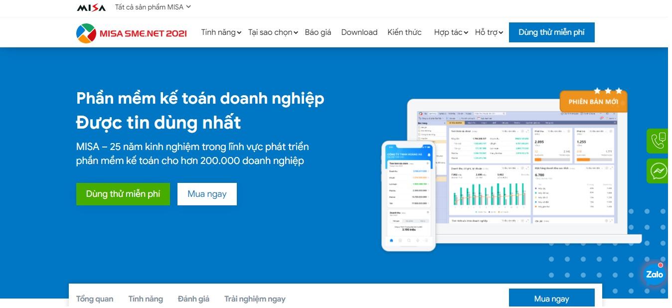 Công ty phần mềm kế toán Misa Đà Nẵng