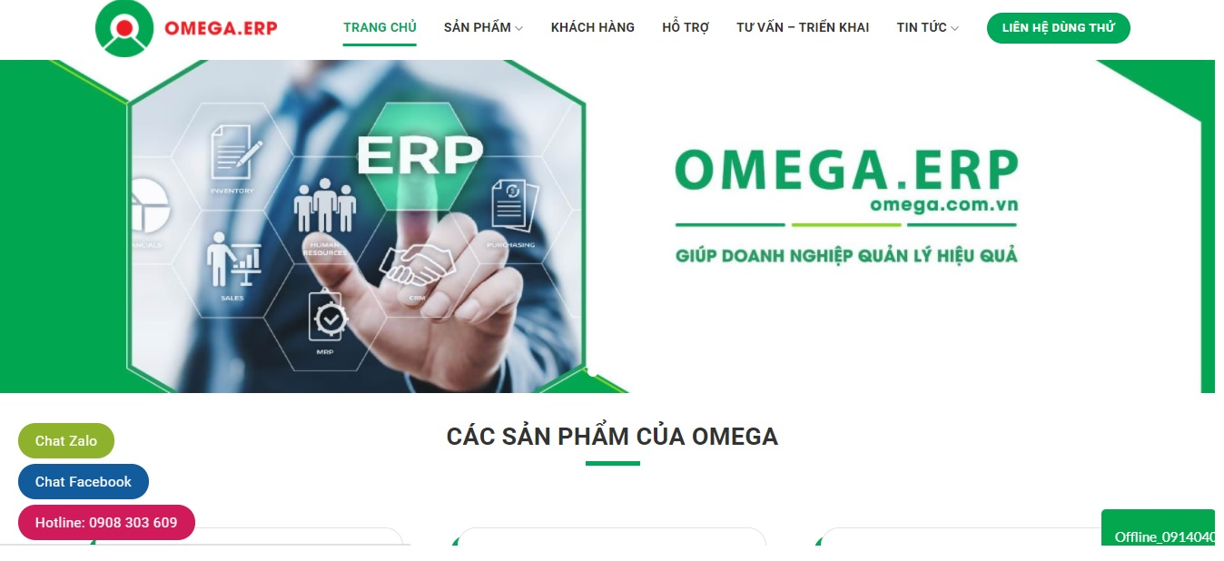 Omega ERP