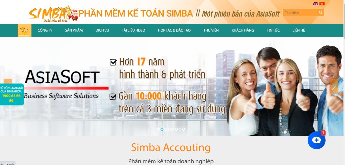 Công ty phần mềm kế toán SIMBA
