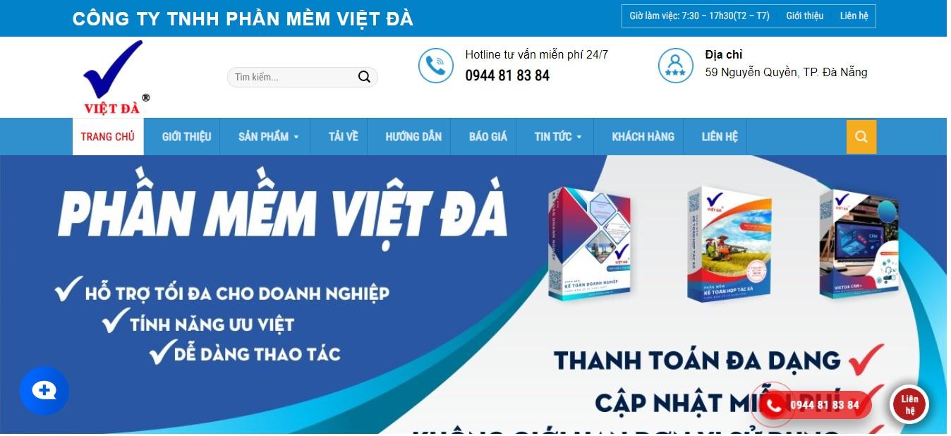 Công ty phần mềm kế toán Việt Đà