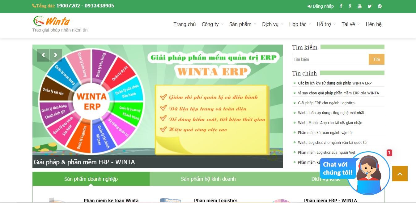 Công ty phần mềm kế toán WINTA