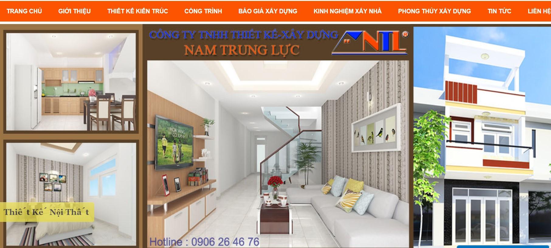 Công ty thiết kế nhà Nam Trung Lực