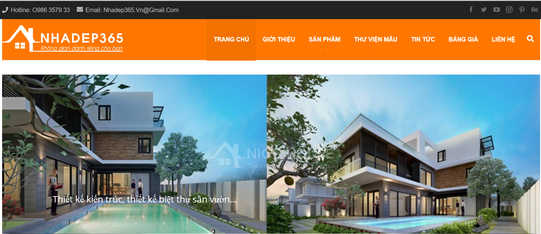 Công ty thiết kế nhà Nhà đẹp 365