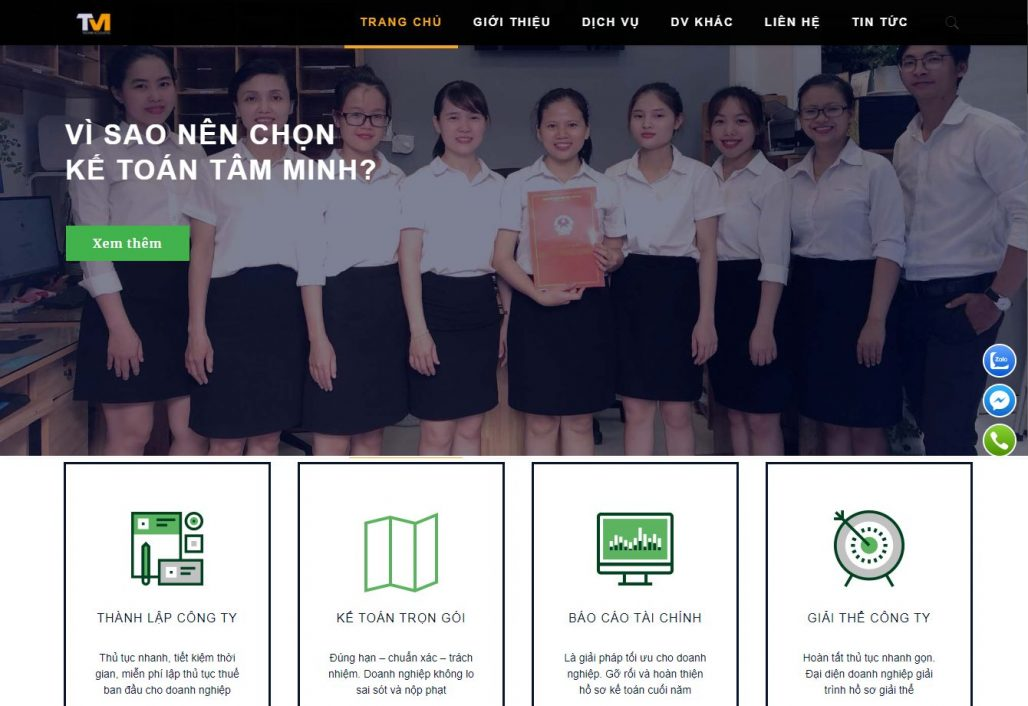 Dịch vụ thành lập công ty - Tâm Minh