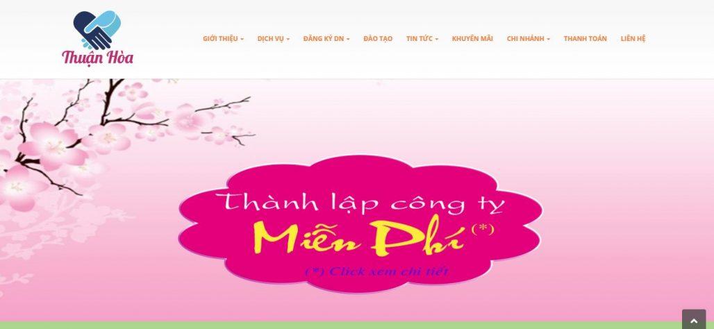 Dịch vụ thành lập công ty Thuận Hòa