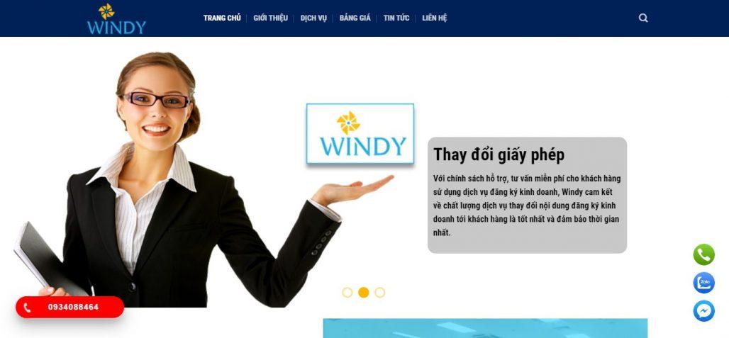 Dịch vụ thành lập công ty Windy
