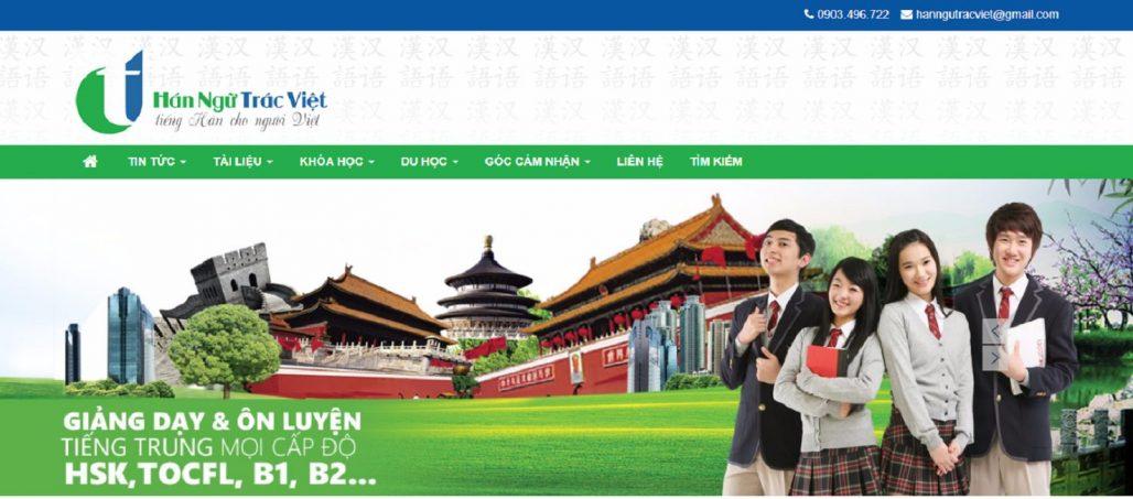 Trung tâm tiếng Trung - Hán ngữ Trác Việt