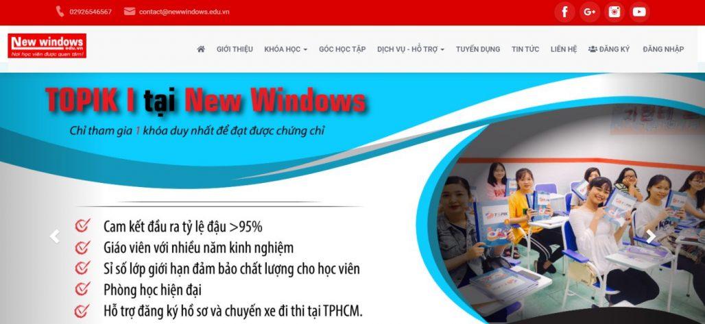 Trung tâm tiếng Trung - Ngoại ngữ New Window