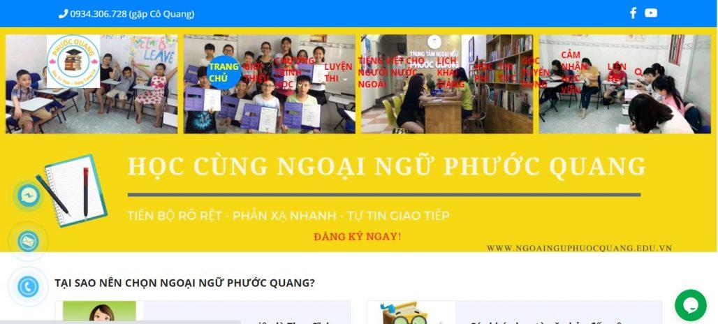 Trung tâm tiếng Trung - ngoại ngữ Phước Quang