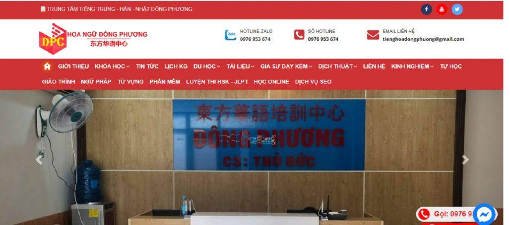 Trung tâm tiếng Trung - Hoa Ngữ Đông Phương