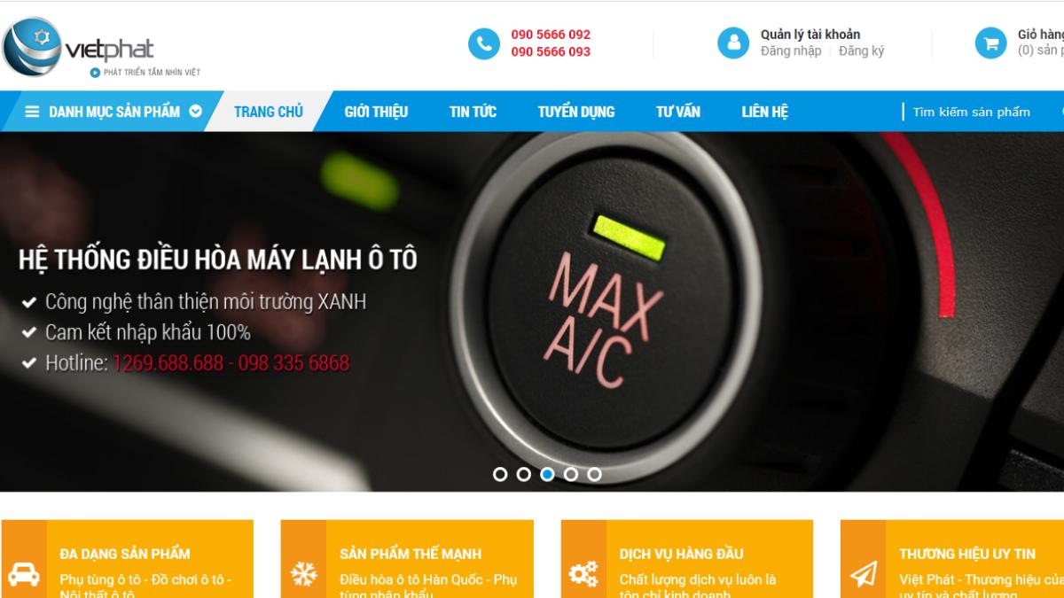 Công ty phụ tùng đồ chơi ô tô Việt Phát