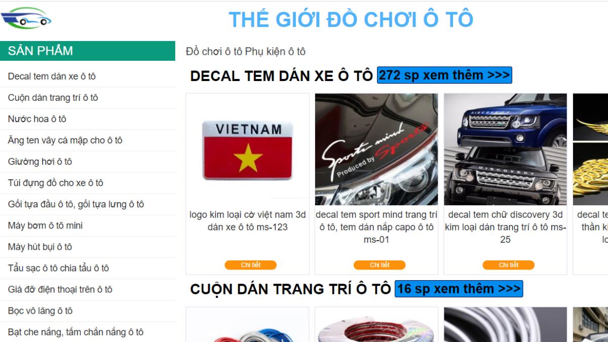 Công ty phụ tùng - phụ kiện ô tô Việt Đức