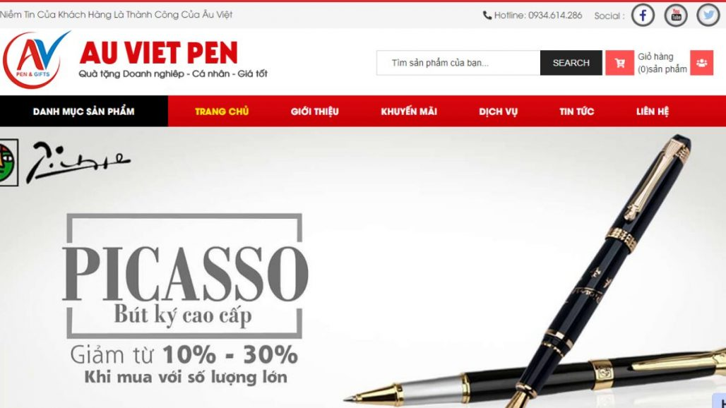 Top 10 website bán bút ký cao cấp uy tín tại Việt Nam
