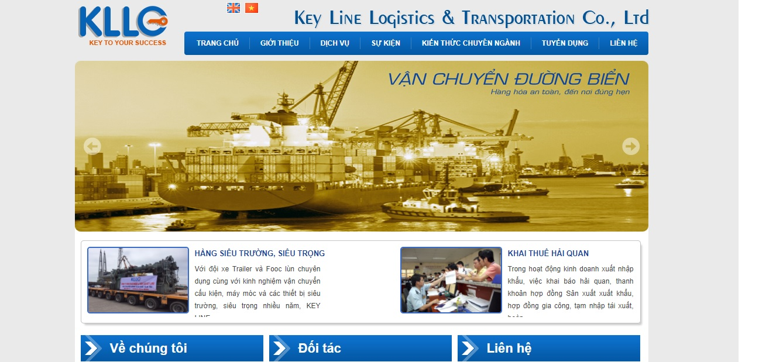 Công Ty vận tải và logistics -  Key Line