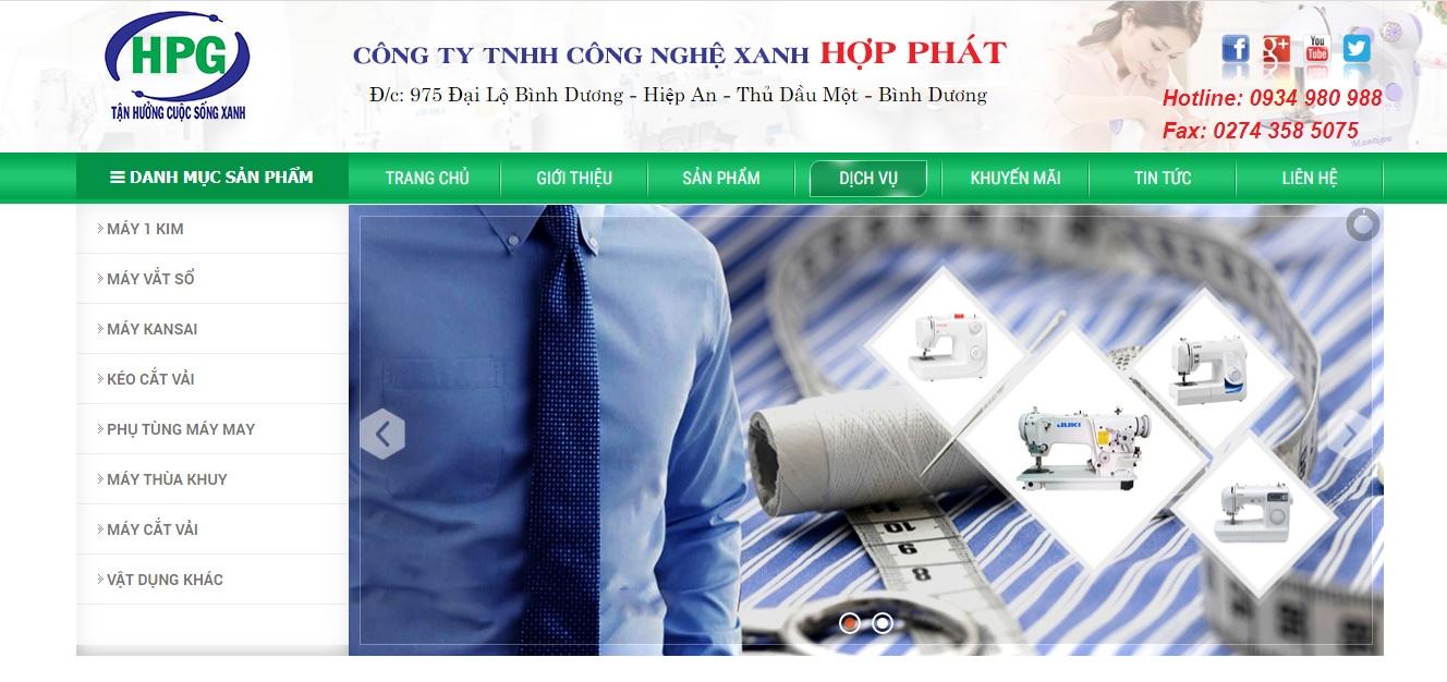 Công ty cung cấp máy móc ngành may Hợp Phát