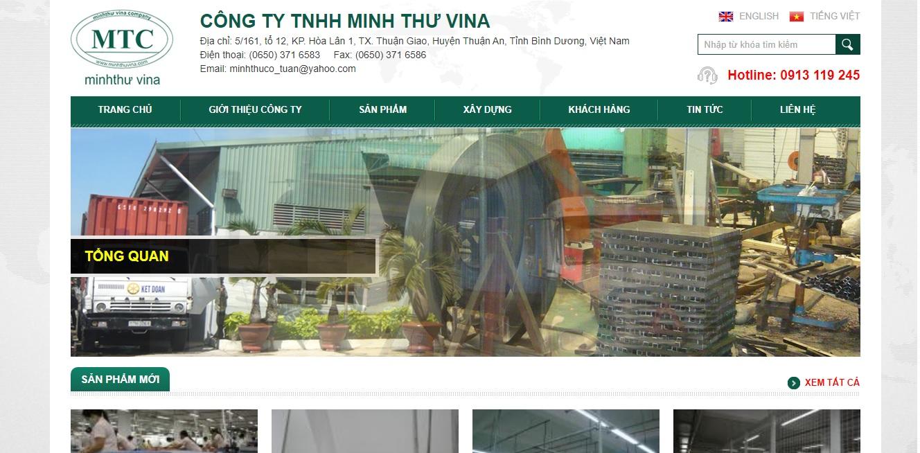 Công ty cung cấp máy móc ngành may Minh Thư Vina