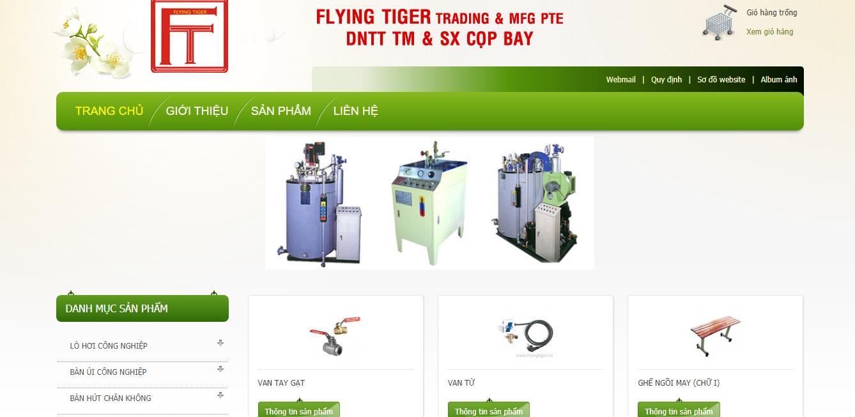 Công ty cung cấp máy móc ngành may Phi Hổ