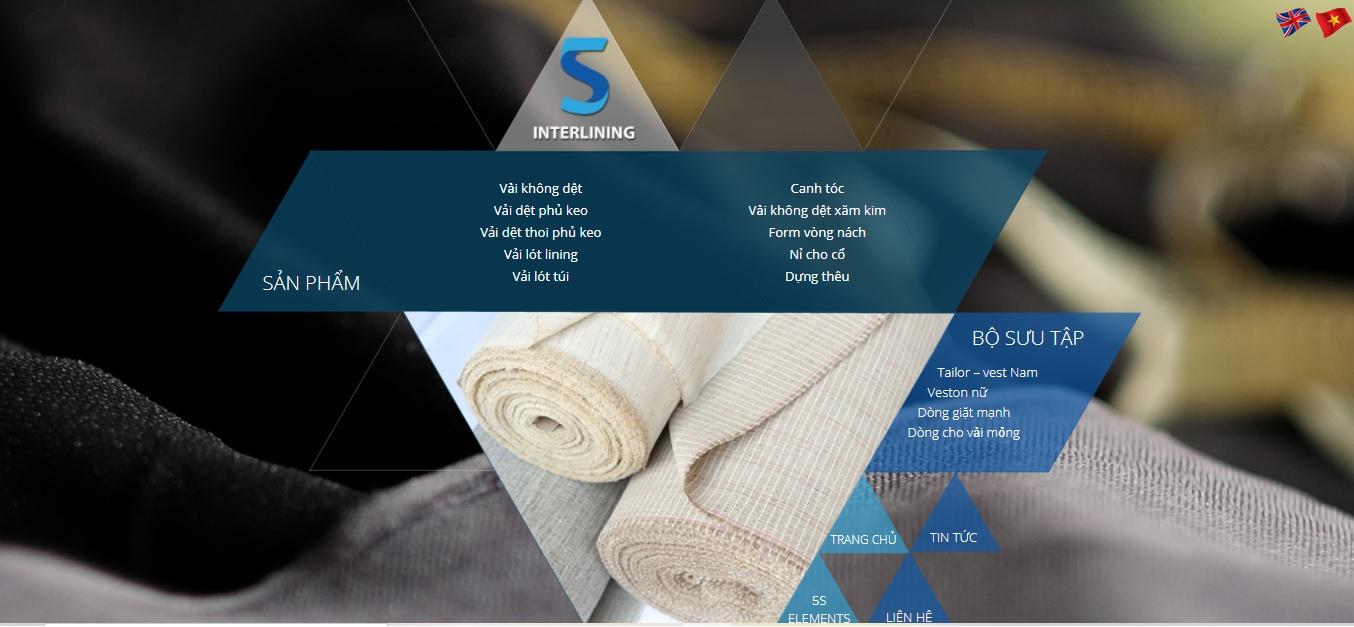 Công ty cung cấp vải và phụ liệu may 5S Interlining