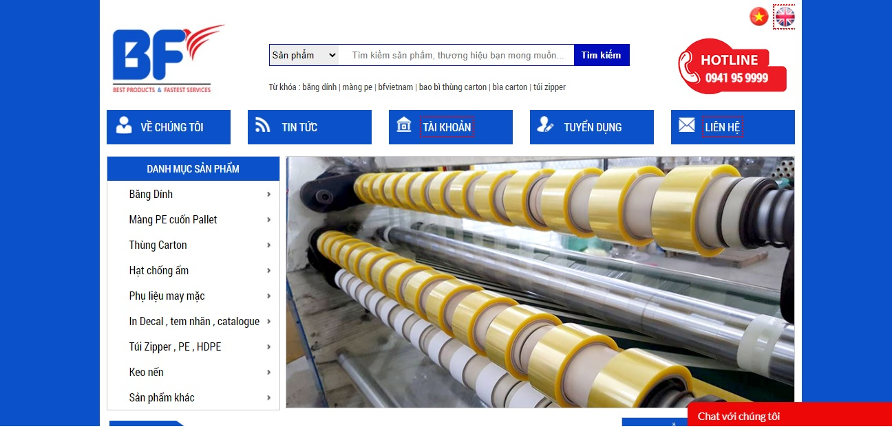 Công ty cung cấp vải và phụ liệu may mặc BF Việt Nam
