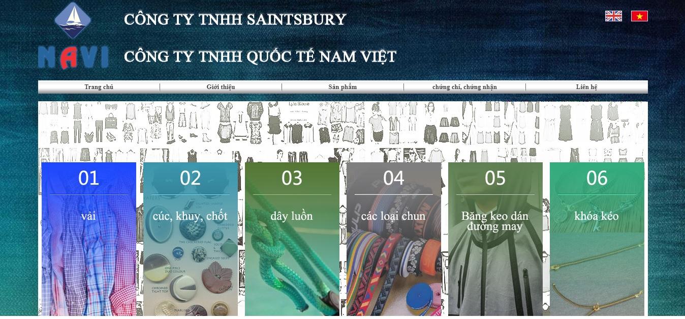 Công ty cung cấp vải và phụ liệu may mặc STB