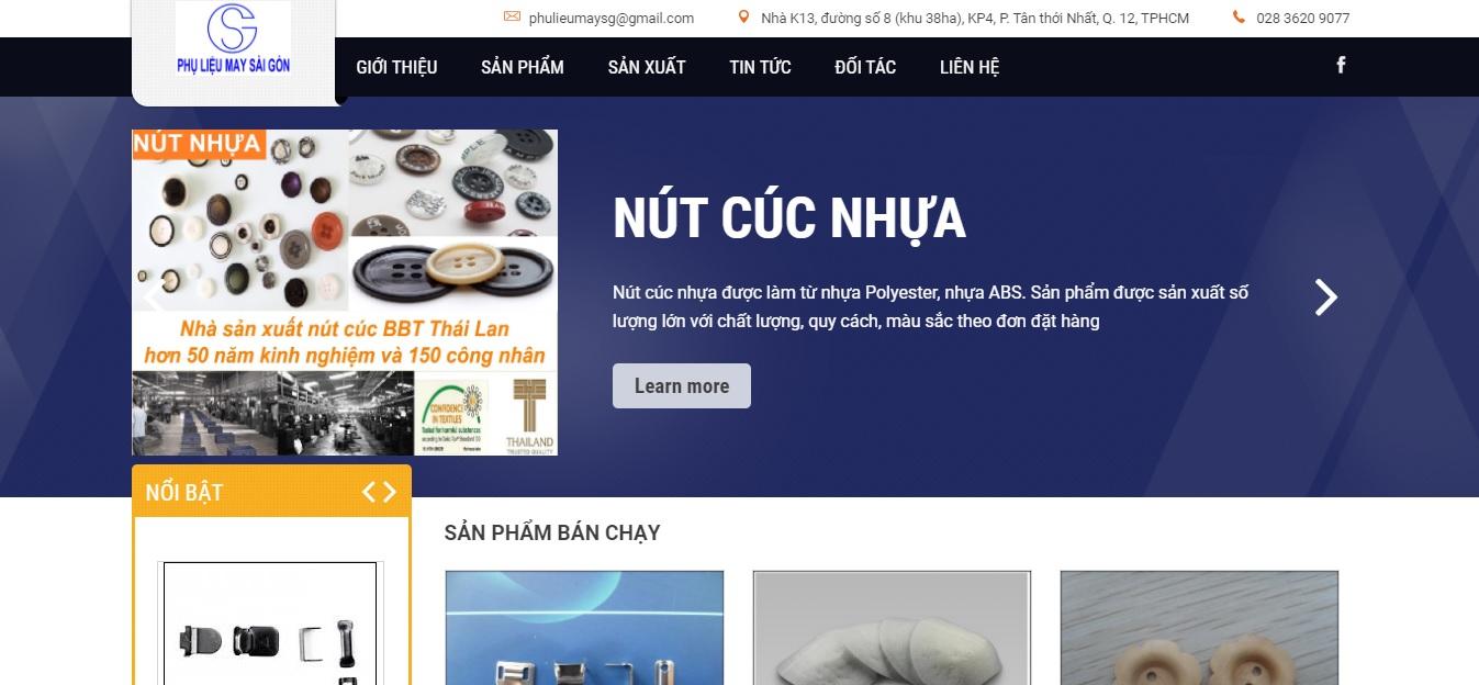 Công ty cung cấp vải và phụ liệu may mặc Sài Gòn