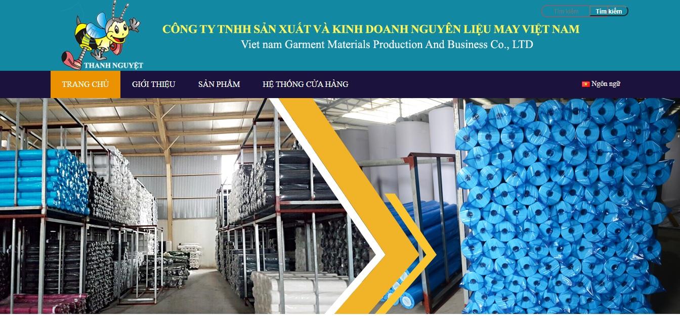 Công ty cung cấp vải và phụ liệu may mặc Việt Nam