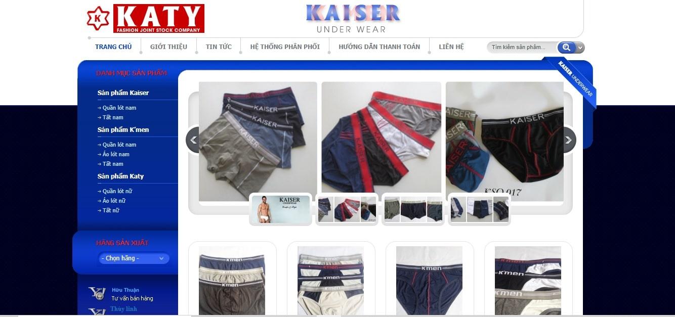 Công ty may mặc - Công Ty Cổ Phần May Thời Trang KaTy