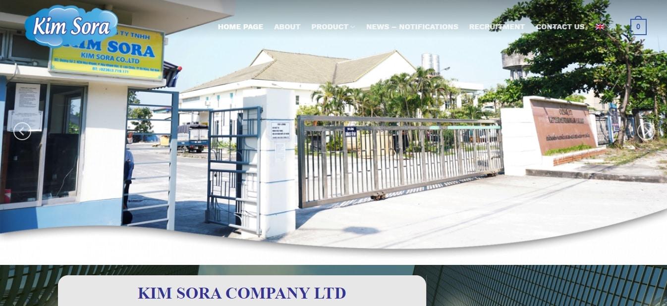 Công ty may mặc - Công ty TNHH Kimsora