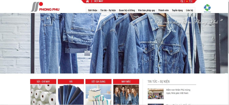 Công ty may mặc - Dệt Phong Phú - Nhà máy Dệt Hải Vân