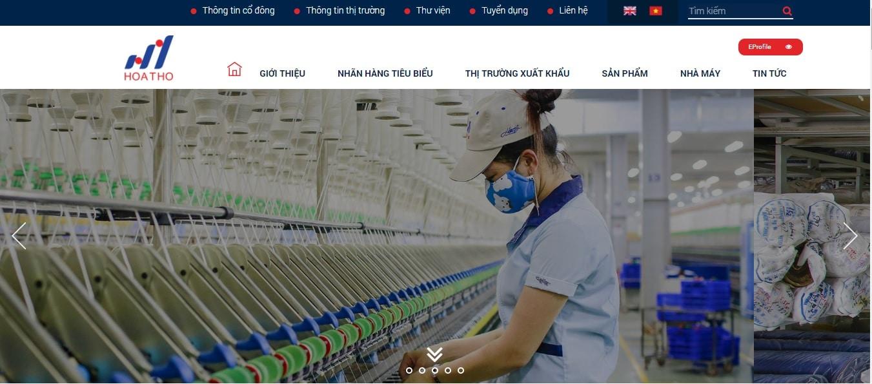 Công ty may mặc - Tổng Công Ty Cổ Phần Dệt May Hòa Thọ