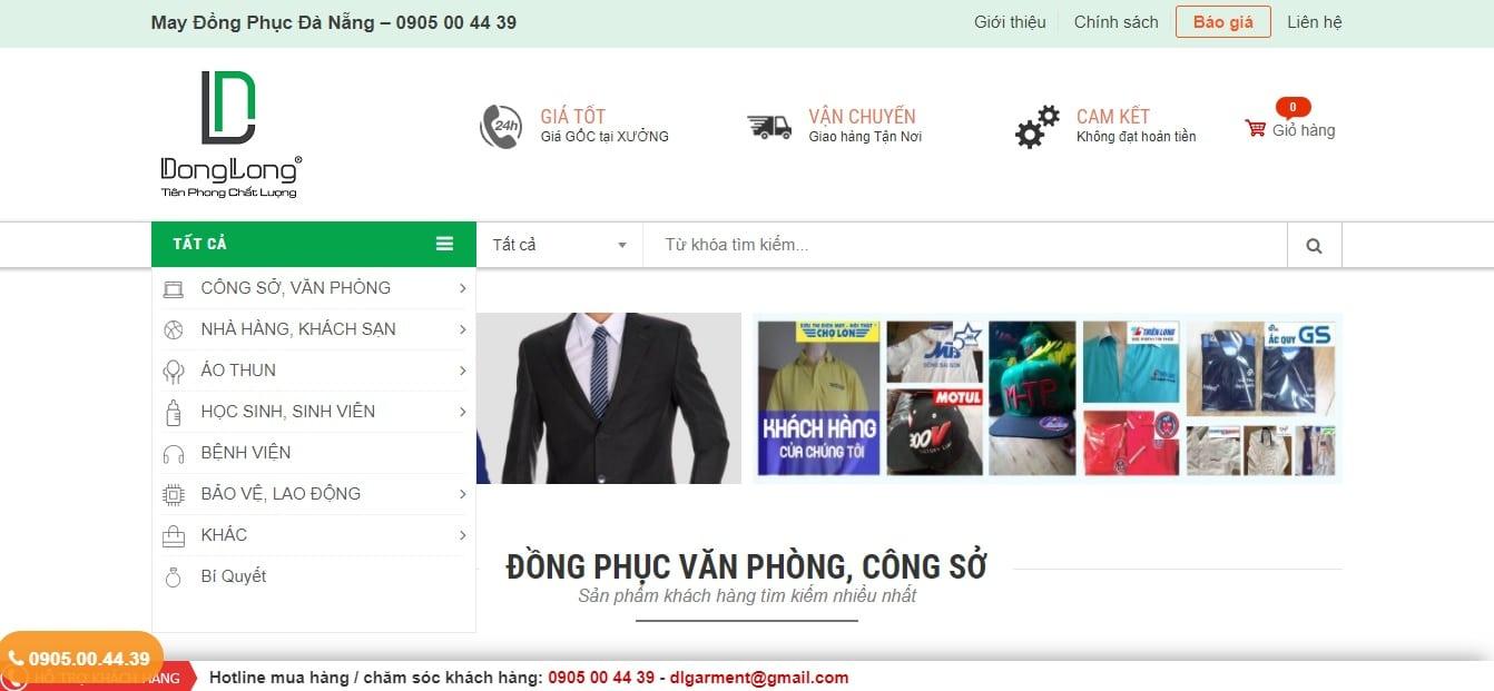 Công ty may mặc - Công ty thương mại Đông Long