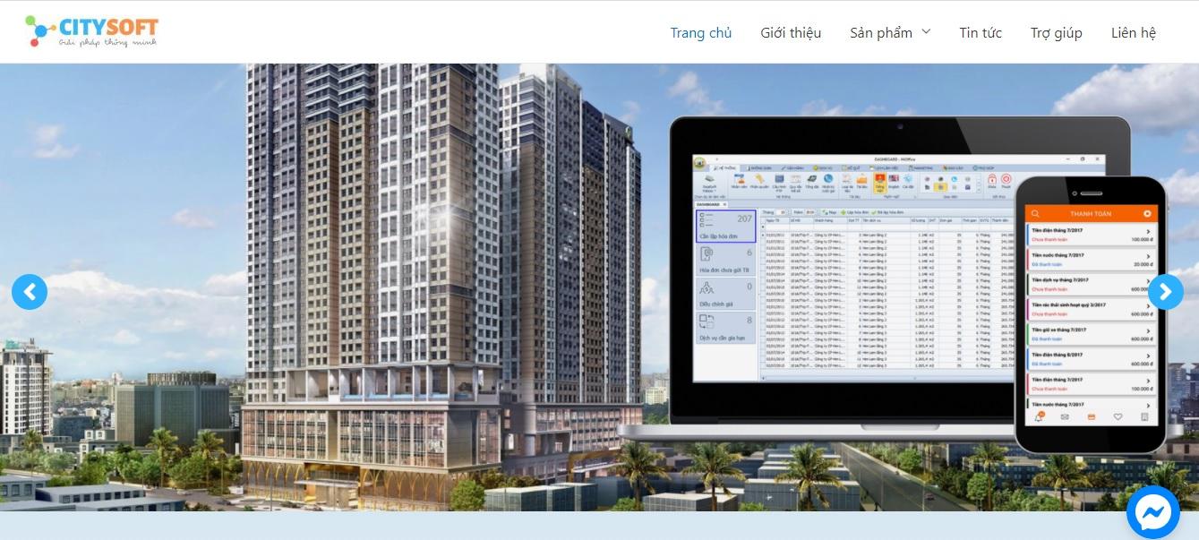 Công ty phần mềm CRM - Citysoft