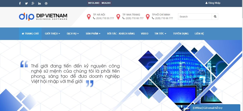 Công ty phần mềm CRM - DIP Việt Nam