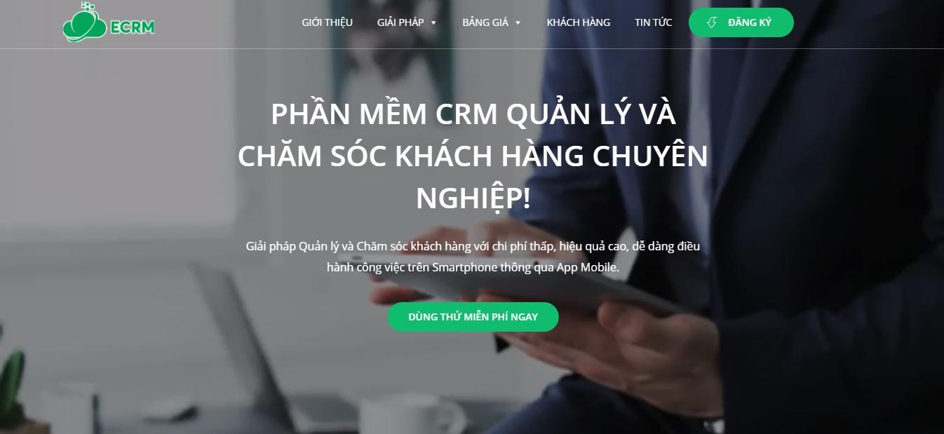 Công ty phần mềm CRM - ECRM