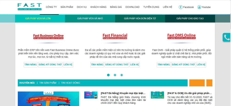 Công ty phần mềm CRM - FAST