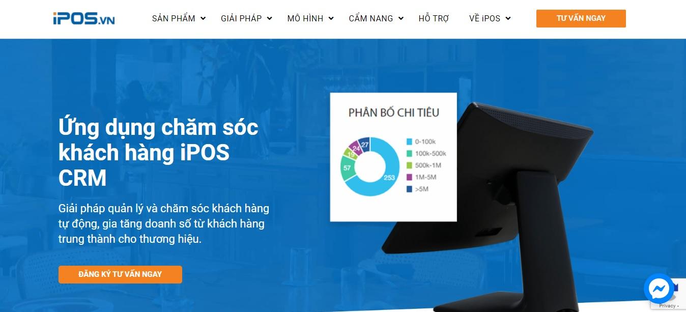 Công ty phần mềm CRM - iPOS