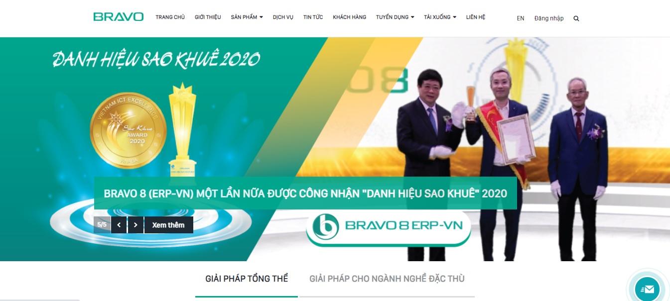 Công ty phần mềm ERP - BRAVO Đà Nẵng