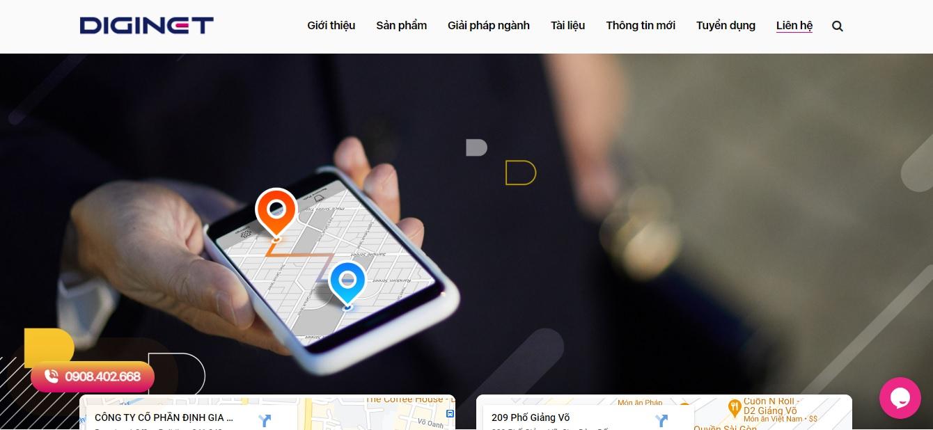 Công ty phần mềm ERP - Diginet