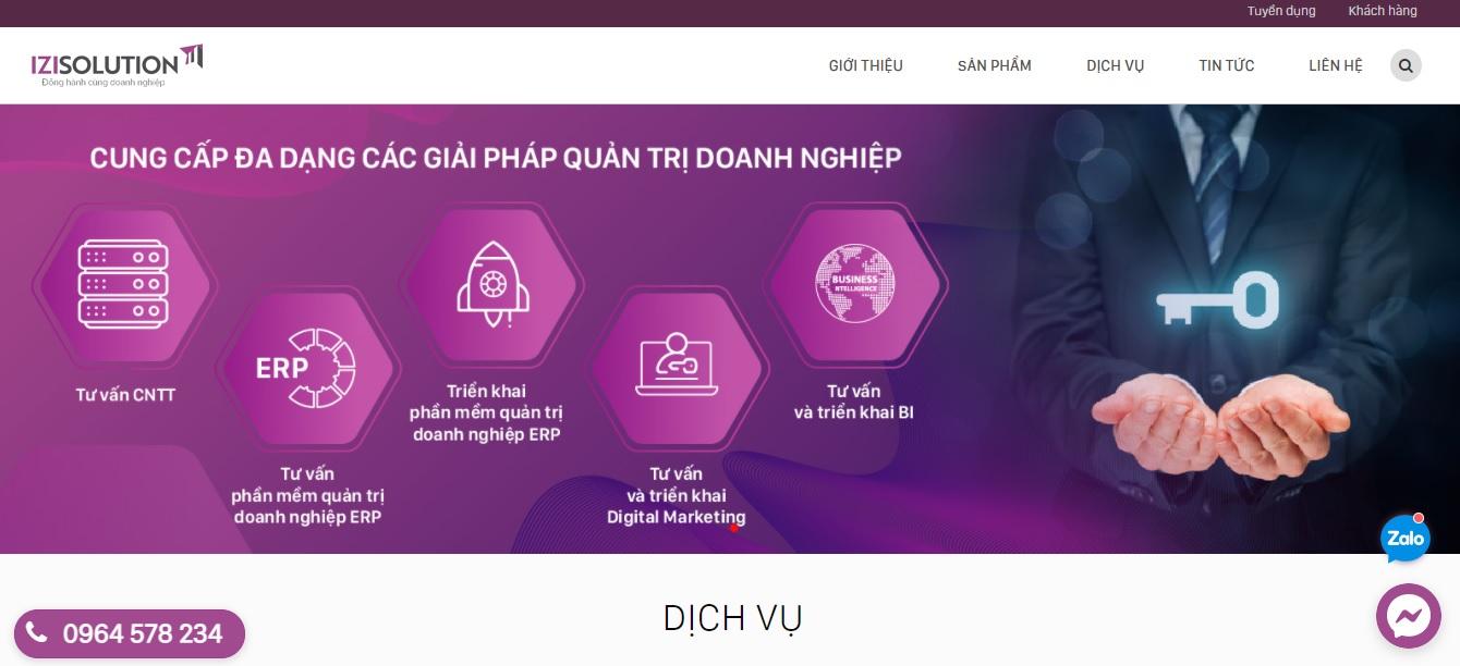 Công ty phần mềm ERP -  ERP Viet