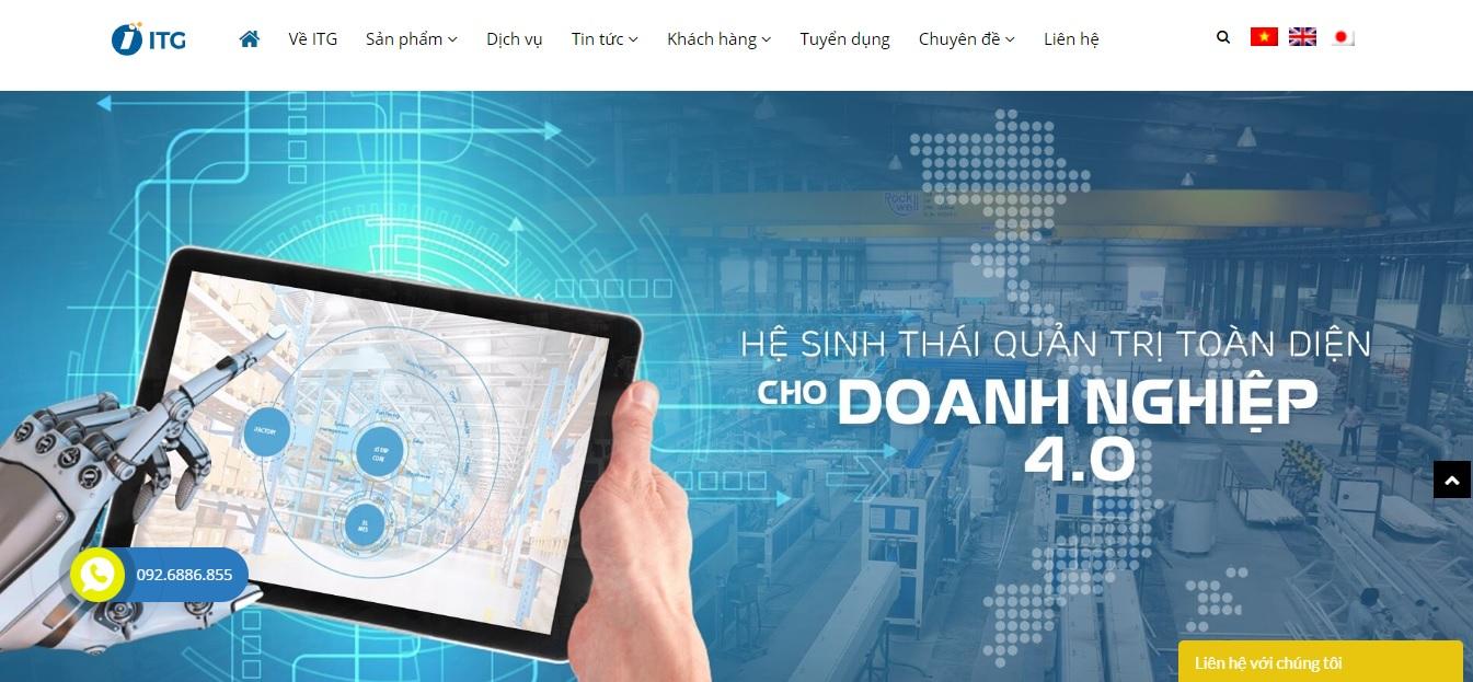 Công ty phần mềm ERP -  ITG