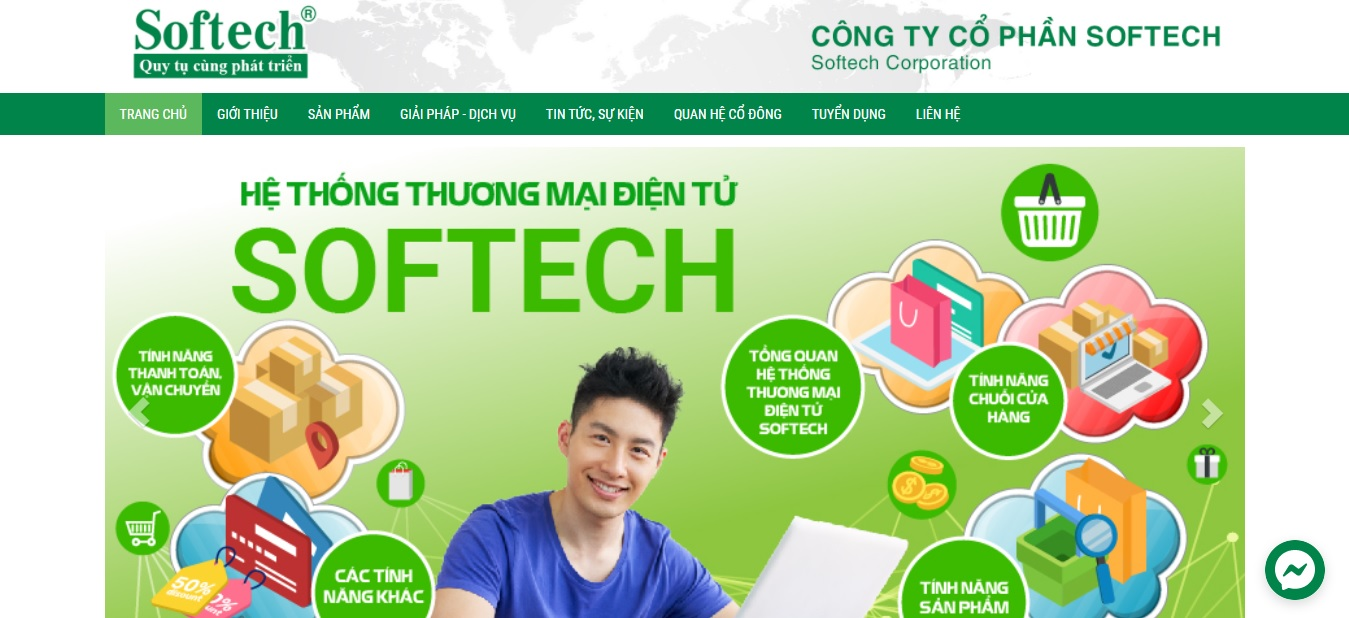Công ty phần mềm ERP - Softech Corporation