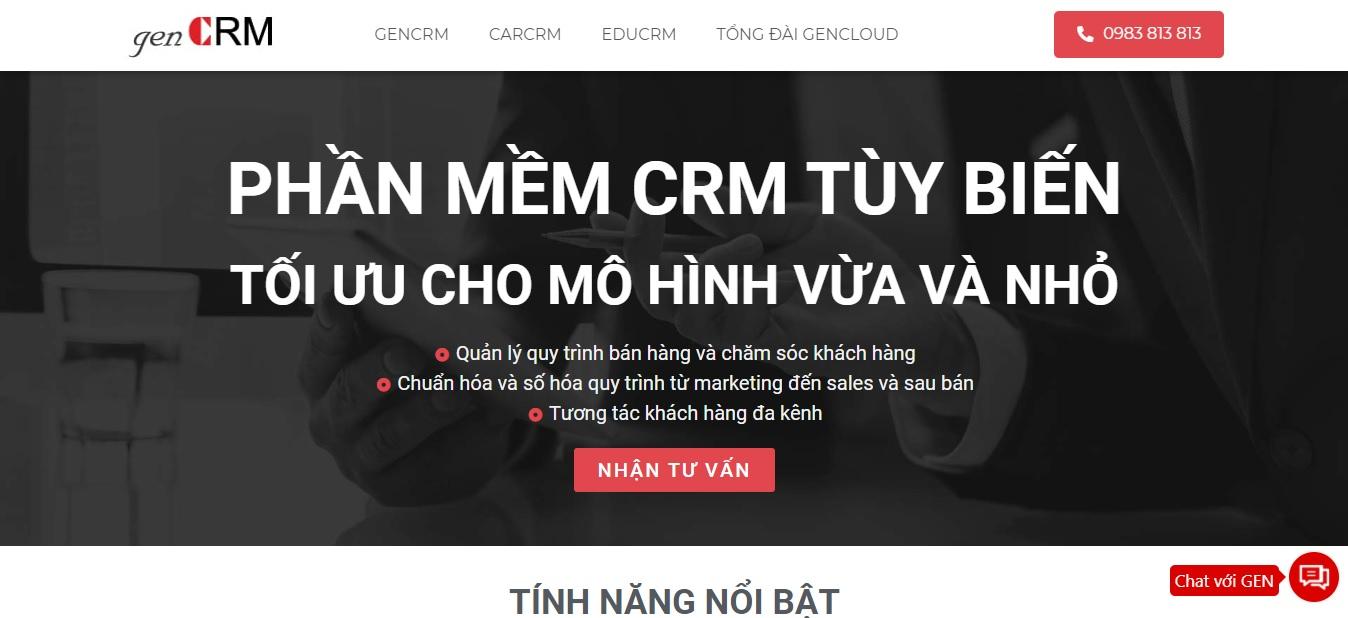 Công ty phần mềm genCRM Hà Nội
